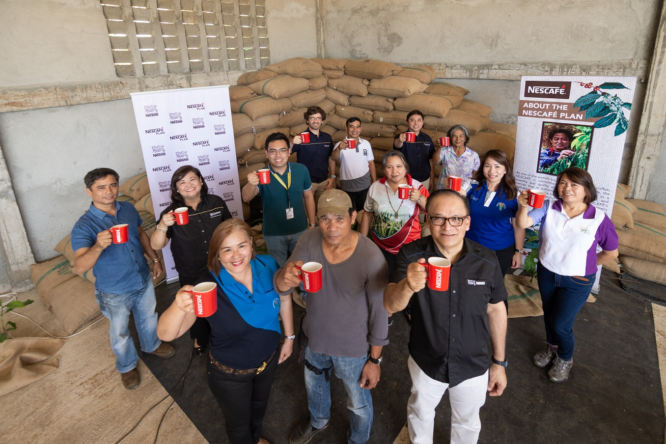 Nescafé Plan Team with Stakeholders