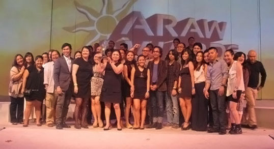 Nestle Philippines Wins Advertiser of the Year Araw Award