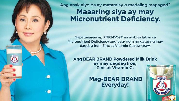New BEAR BRAND Campaign Launched