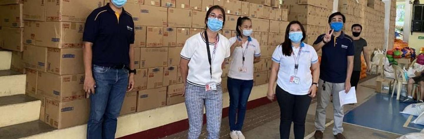 Delivery of Nestlé Products for Kasambuhay Kits in CDO