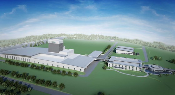 Artist's impression of new manufacturing facility in the Philippines.