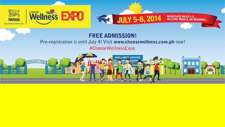 Join The Nestlé Choose Wellness Expo!